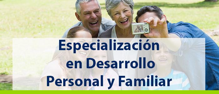 Especialización en Familia