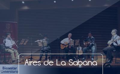 Bienestar Universitario Botones grupos representativos Aires de la sabana Universidad de La Sabana