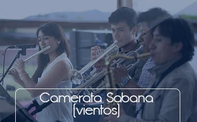 Bienestar Universitario Botones grupos representativos Camerata Sabana vientos Universidad de La Sabana