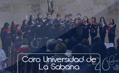 Bienestar Universitario Botones grupos representativos Coro Universidad de La Sabana