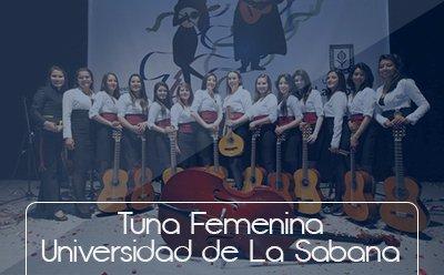Bienestar Universitario Botones grupos representativos Tuna Femenina Universidad de La Sabana
