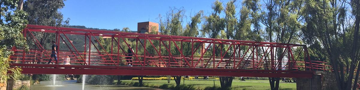menú superior perfiles Alumni emprendimiento encabezado puente rojo unisabana