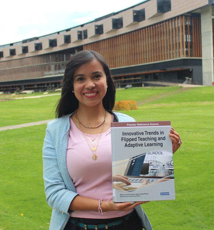 Profesora Diana Durán publica capítulo en el libro Innovative Trends in Flipped Teaching and Adaptive Learning