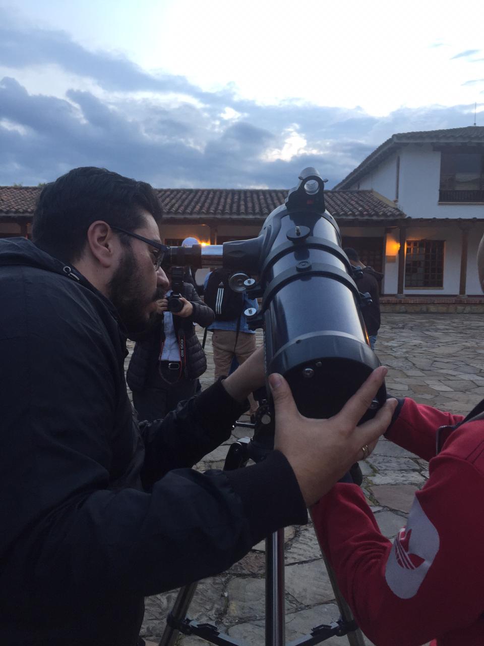Observación Astronómica Universidad de La Sabana