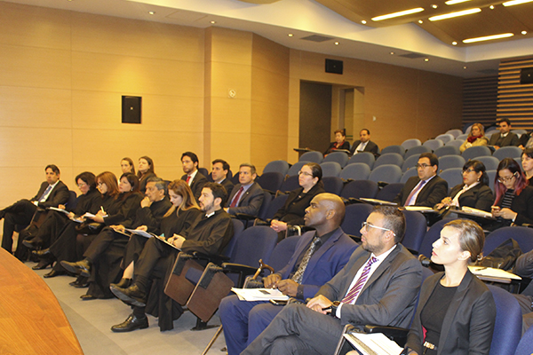 Juicios simulados sobre el delito de trata de personas en países de Suramérica- OIM- Universidad de La Sabana