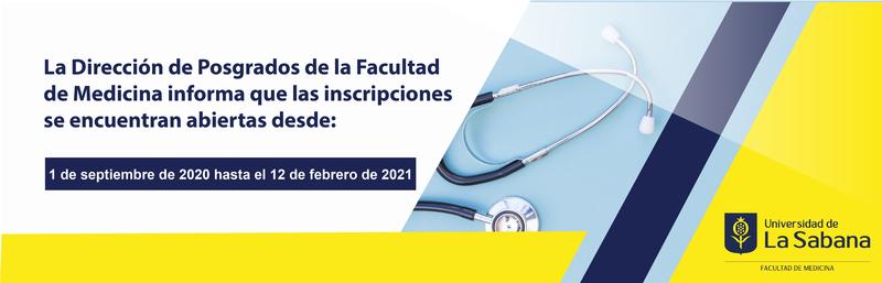 Inscripciones maestría en Salud Pública