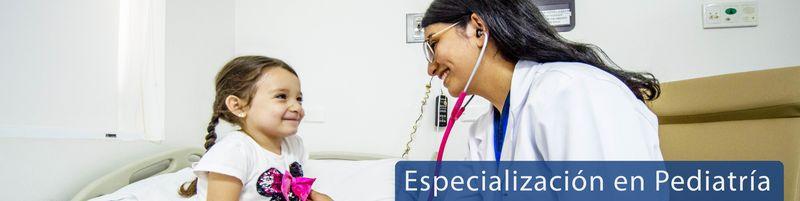 Especialización en Pediatría