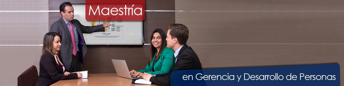 Maestría en Gerencia y Desarrollo de Personas, Universidad de La Sabana