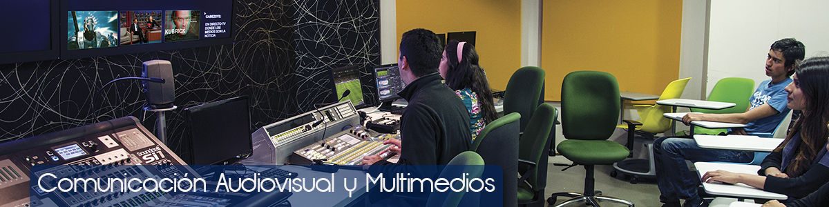 Estudiar carrera de Comunicación Audiovisual y Multimedios