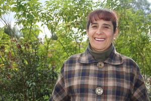 Enfermera Blanca Venegas Bustos. Profesora de la Universidad de La Sabana