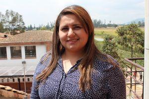 Fisioterapeuta Lina Grimaldos Pérez. Profesora Universidad de La Sabana