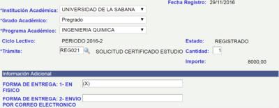 Certificados Academicos