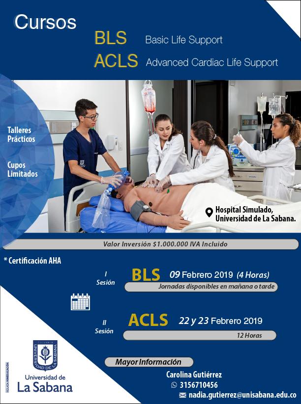 Curso BLS y ACLS