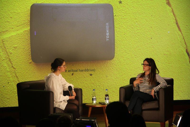 Susan Comrie inauguró el Club de Periodismo