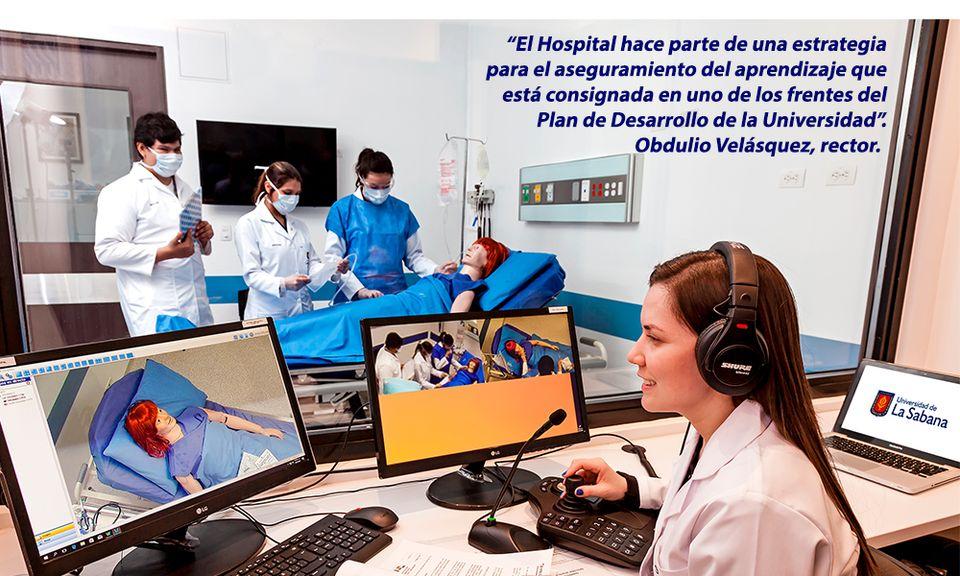 Primer Hospital Simulado de la región