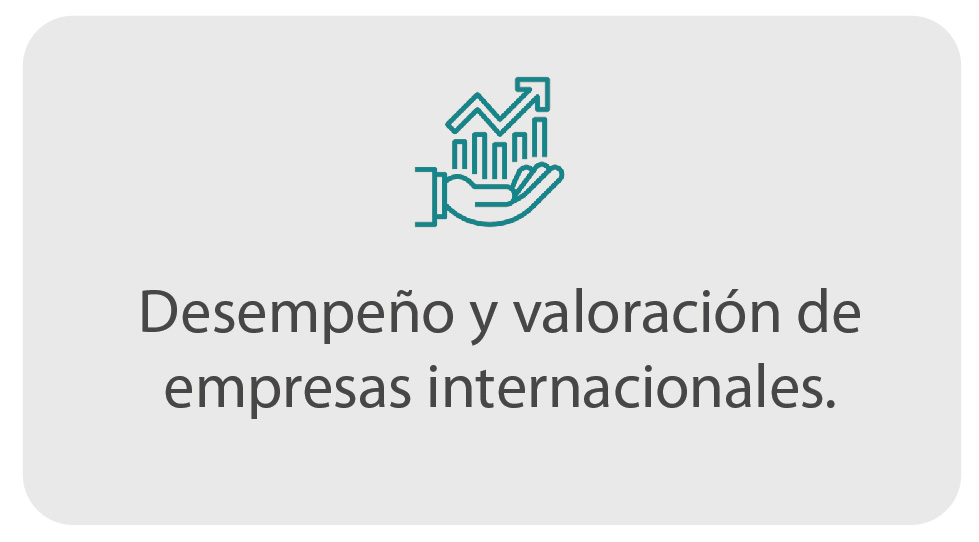 Desempeño y valoración de empresas internacionales