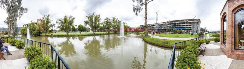 panorámica campus 38 años a escala humana  Soñamos