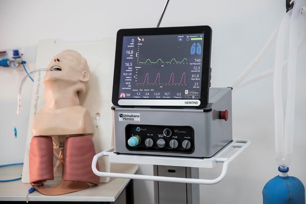 Cómo ayuda al paciente el ventilador Unisabana Herons