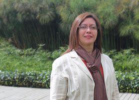 Fisioterapeuta María Eugenia Florez. Profesora Universidad de La Sabana