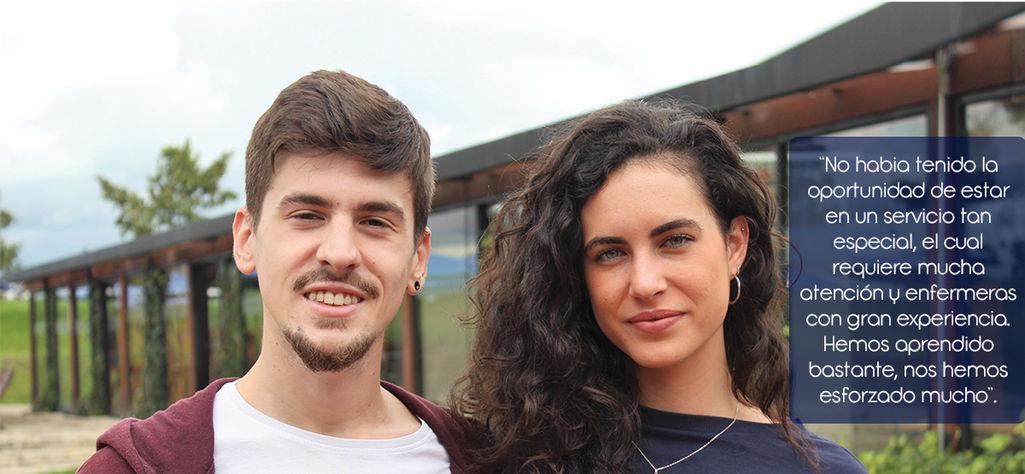Estudiantes españoles de Enfermería adelantan prácticas en la Fundación Cardioinfantil