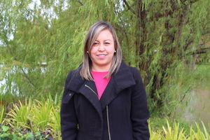 Directora de estudiantes Anyerly Murcia