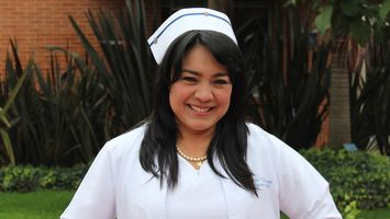 Profesora de Enfermería, Sonia Cárdenas