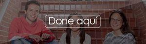 menú superior perfiles Alumni cooperación botón done aquí unisabana