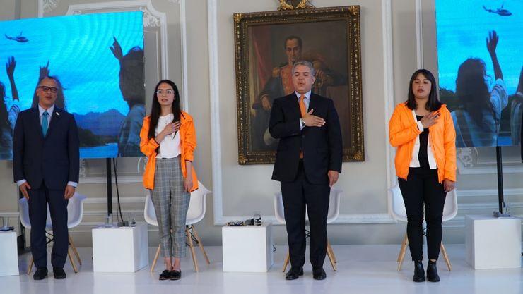 Vanessa Bernal compartió sus motivaciones con Iván Duque