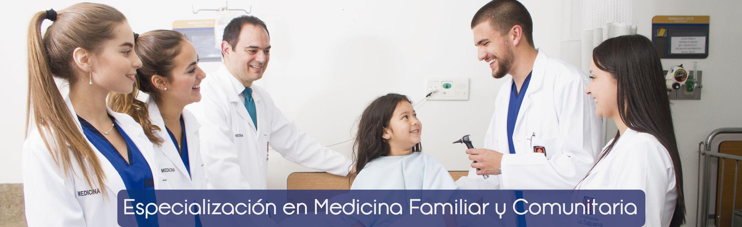 Especialización en Medicina Familiar y Comunitaria