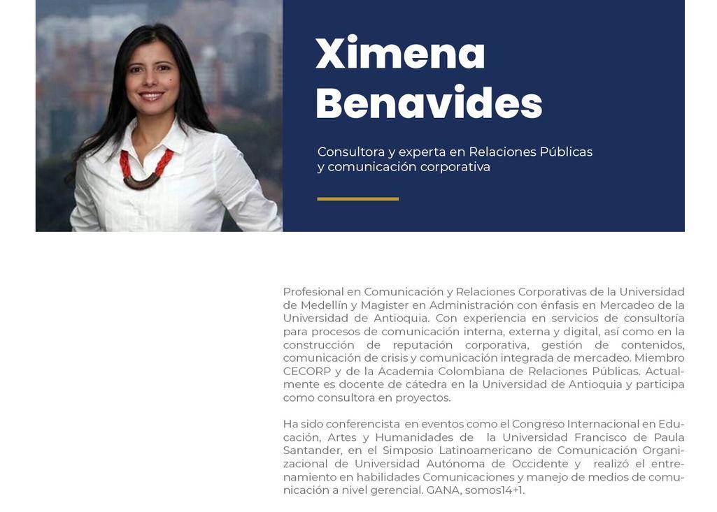 Ximena Benavides