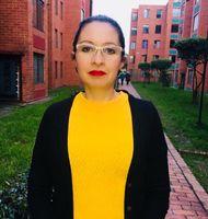 Profesora Ginna Gómez, Facultad de Enfermería y Rehabilitación
