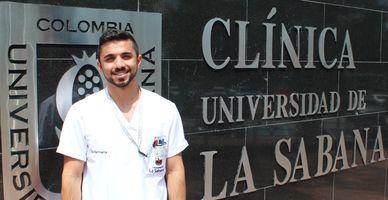 Henryk Manukyan. Estudiante Internacional de Enfermería