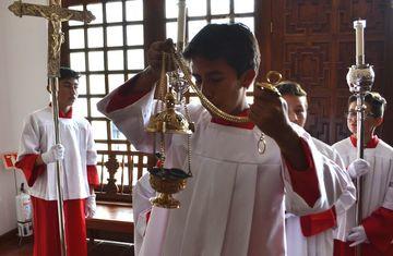 La universidad en imágenes capellania confirmaciones 3 unisabana