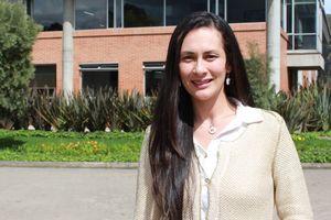 Fisioterapeuta Margareth Alfonso Mora. Profesora Universidad de La Sabana