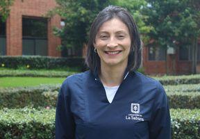 Andrea Pachón, Auxiliar del Hospital Simulado de la Universidad de La Sabana