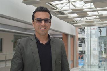 Edward Goyeneche - Jefe del Departamento de Comunicación Audiovisual
