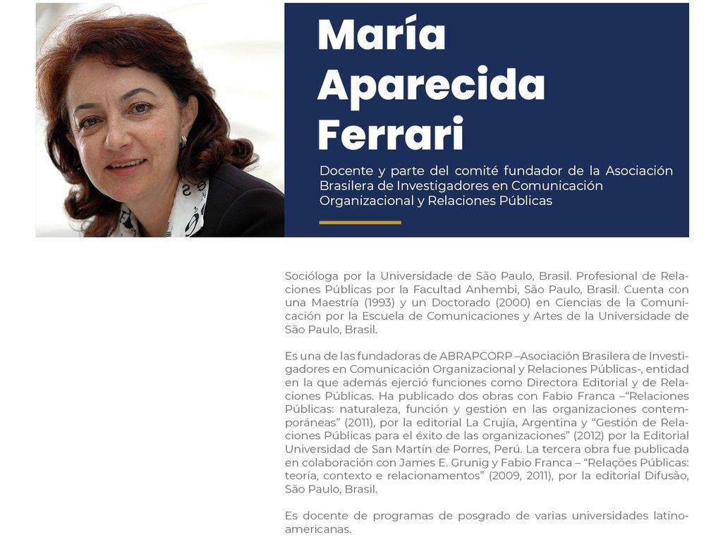 María Aparecida
