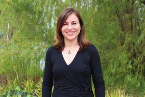 Profesora investigadora María Fernanda Quiro