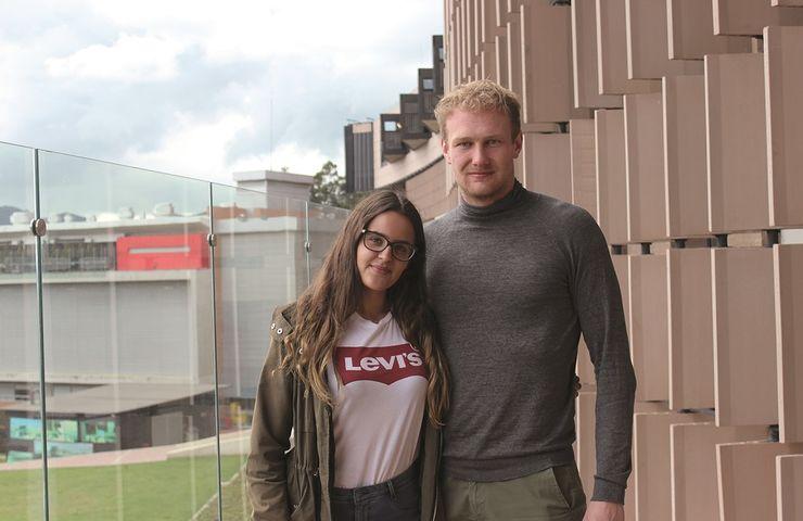 Estudiantes Internacionales Elias Bork y Marinella Lucenti, Universidad de La Sabana