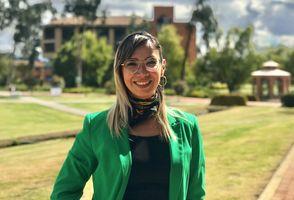 Ángela Martín Uribe, Coordinadora de Promoción y Admisiones de la Facultad de Enfermería y Rehabilitación