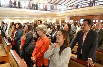 La universidad en imágenes capellania confirmaciones 7 unisabana