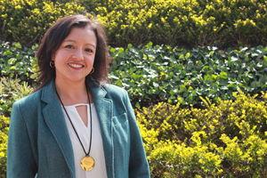 Fisioterapeuta Gina Torres Sarmiento. Profesora Universidad de La Sabana