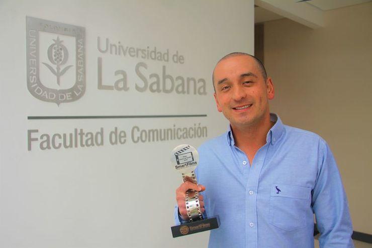Daniel García ganó el premio a mejor mezcla y diseño sonoro