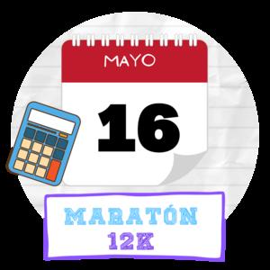 Maratón de Estudio 12k