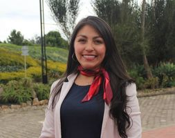 Profesora del programa de Fisioterapia, Gina Velasco Orjuela.