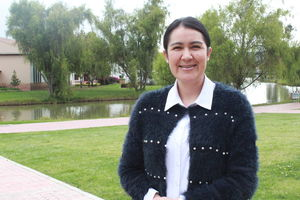 Dra Alejandra Fuentes. Profesora de la Maestría en Enfermería Virtual