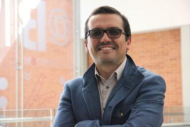 Andrés Forero, director de Comunicación Audiovisual y Multimedios