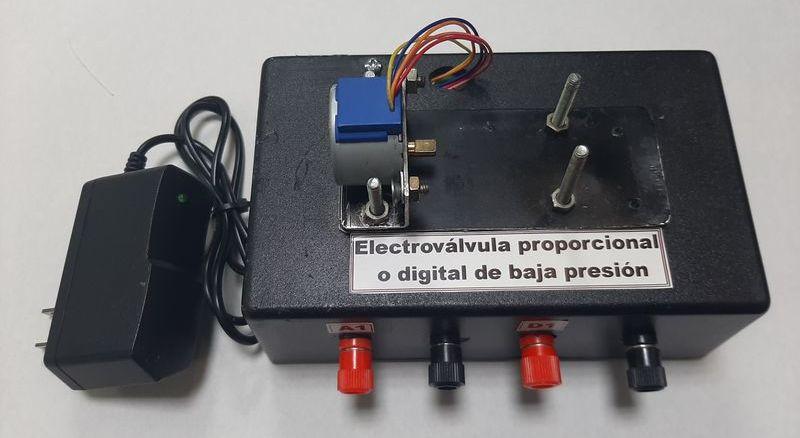 Patente electroválvula de baja presión