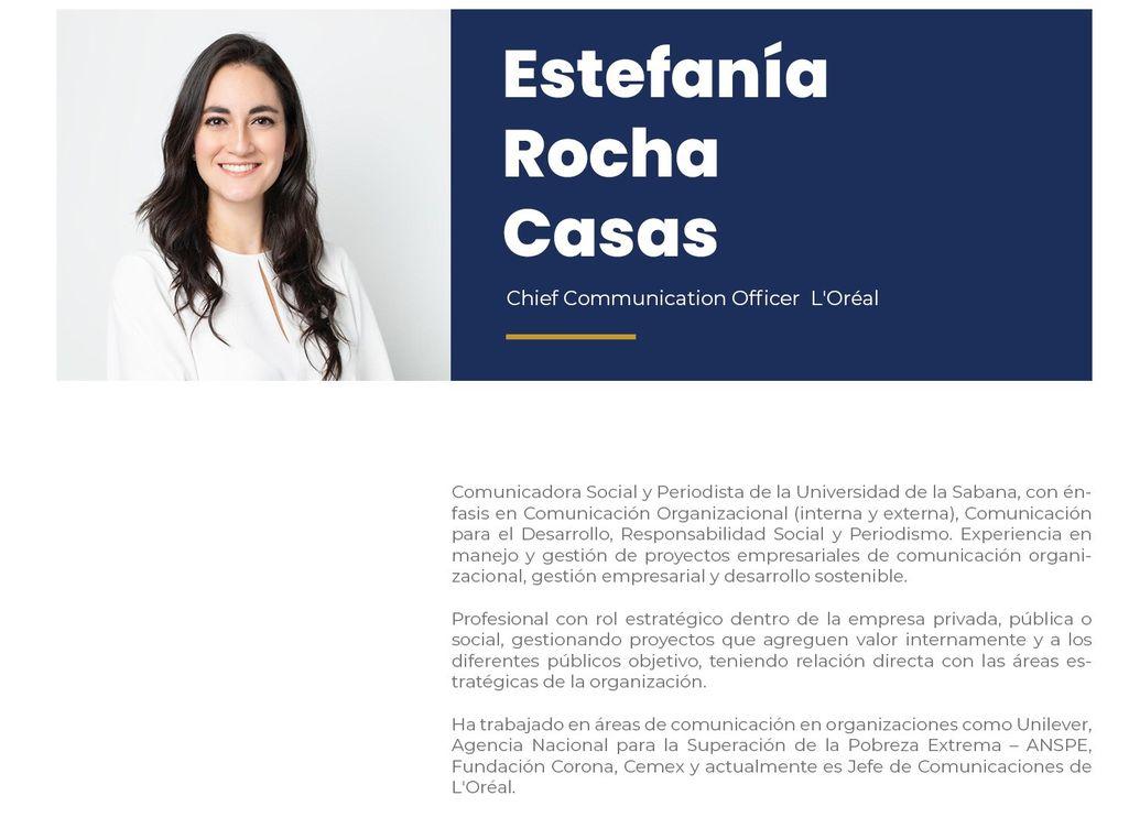Estefanía Rocha