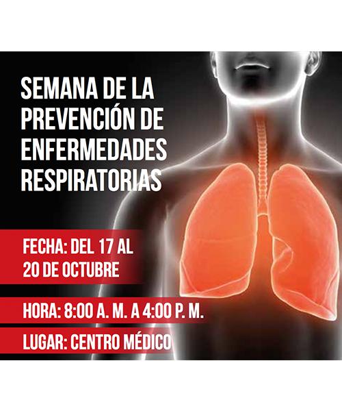 Semana de la prevención de enfermedades respiratorias Unisabana